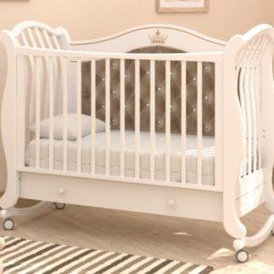 Детская кроватка-качалка Гандылян « Габриэлла люкс плюс »