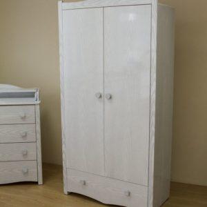 Шкаф детский Можга (Красная Звезда) античный белыйС 563 Э А