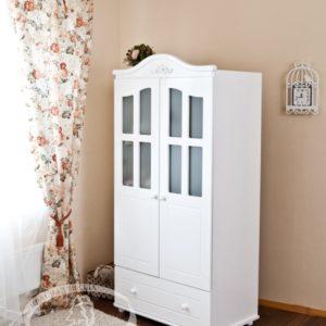 Шкаф детский Можга (Красная Звезда) белый, слоновая кость, ваниль, серыйС 536 Э