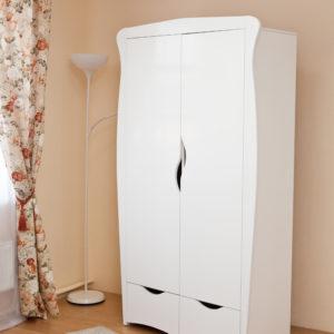 Шкаф детский Можга (Красная Звезда) белый, слоновая кость, ваниль, серыйС 546 Э