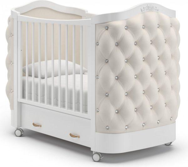 Детская кроватка на колесах Гандылян « Тиффани »