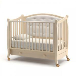 Детская кроватка на колесах Гандылян « Жанетт »