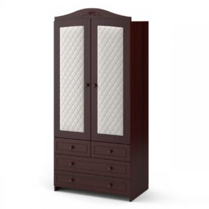 Шкаф двухдверный « Тиффани » ромб