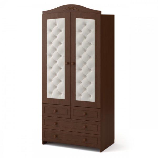Шкаф двухдверный « Тиффани » пуговицы