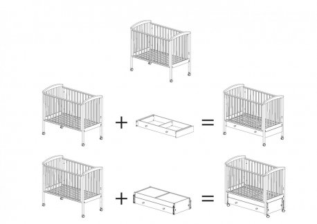 Ящик для кровати « Дени »