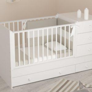 Детская кроватка-трансформер Гандылян « Тереза »