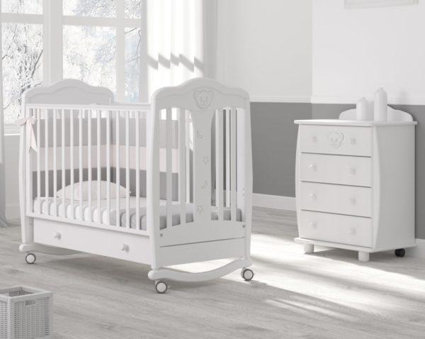 Детская кроватка-качалка Гандылян « Мишель »