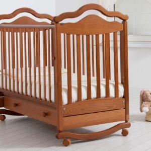 Детская кроватка-качалка Гандылян « Анжелика »