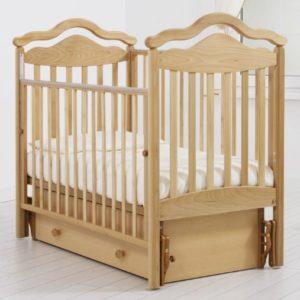 Детская кроватка с универсальным маятником Гандылян « Анжелика »
