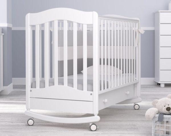 Детская кроватка-качалка Гандылян « Ванечка »
