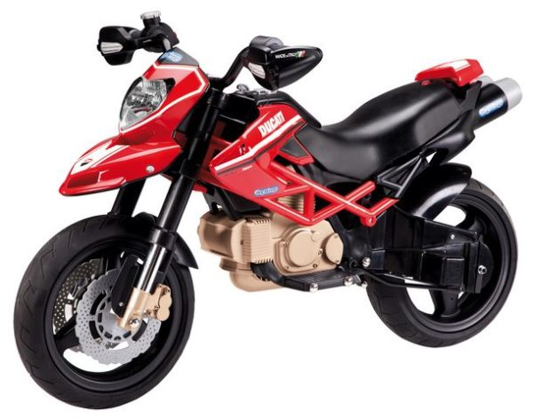 Детский электромотоцикл PEG - PEREGO DUCATI Hypermotard