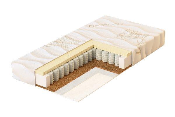 Матрас Облачко 14 (блок независимых пружин,кокос с 1стор., латекс с 1стор.,выс,15см)