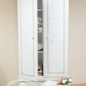 Шкаф детский Можга (Красная Звезда) античный белыйС 547 Э А