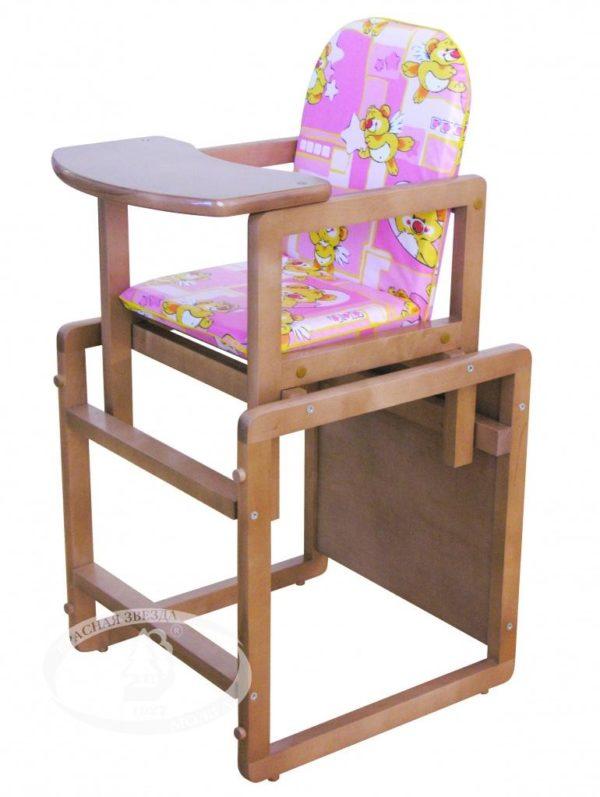 Гарнитур детской мебели тип 1  (с чехлом) Можга (Красная Звезда) красно/коричневыйС 294